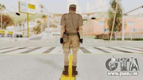 MGSV Phantom Pain CFA Soldier v2 pour GTA San Andreas troisième écran