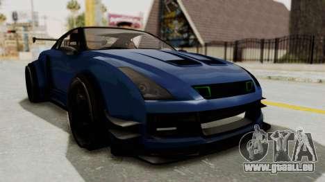 GTA 5 Annis Elegy Twinturbo Spec pour GTA San Andreas vue de droite