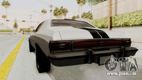 Ford Gran Torino 1975 für GTA San Andreas zurück linke Ansicht