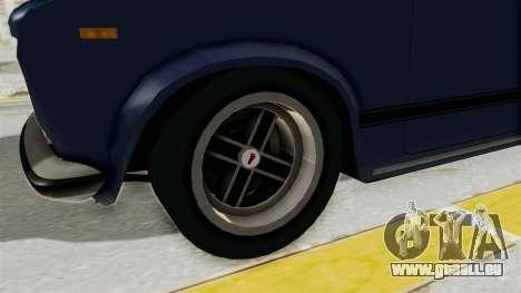 Seat 124 2000 pour GTA San Andreas vue arrière