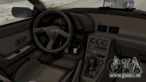 Nissan Skyline R32 4 Door Monster Truck für GTA San Andreas Innenansicht