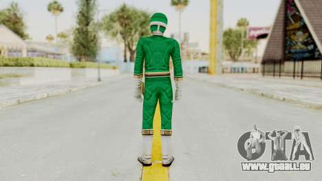 Power Rangers Lightspeed Rescue - Green für GTA San Andreas dritten Screenshot