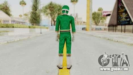 Power Rangers Lightspeed Rescue - Green pour GTA San Andreas troisième écran