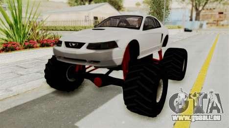Ford Mustang 1999 Monster Truck für GTA San Andreas