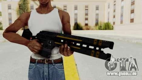 Railgun pour GTA San Andreas troisième écran