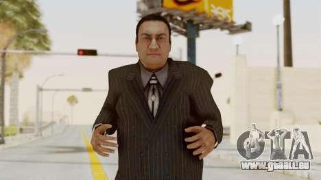 Taher Shah Black Suit pour GTA San Andreas