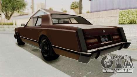 GTA 5 Dundreary Virgo Classic pour GTA San Andreas laissé vue
