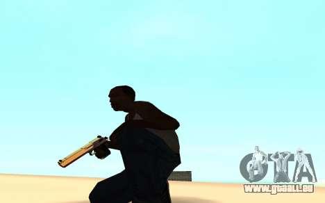 Desert eagle gradient pour GTA San Andreas deuxième écran