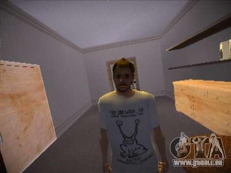 How are you T-Shirt pour GTA San Andreas troisième écran