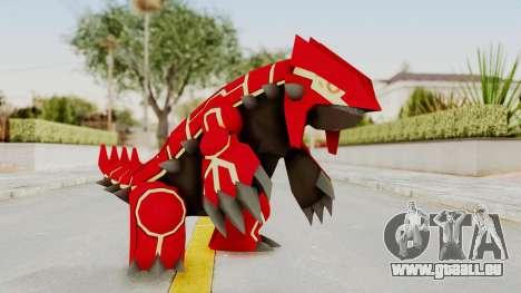 Mega Groudon für GTA San Andreas zweiten Screenshot