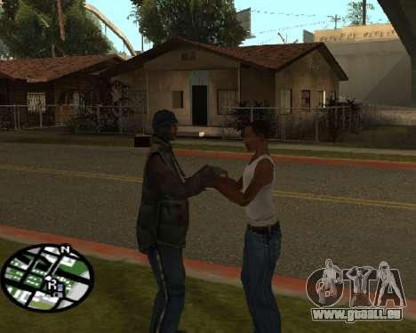 Gangster salutation pour GTA San Andreas