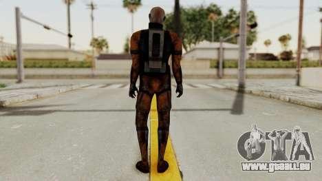 Mass Effect 2 Batarian für GTA San Andreas dritten Screenshot