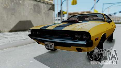 Dodge Challenger RT 440 1970 Six Pack für GTA San Andreas