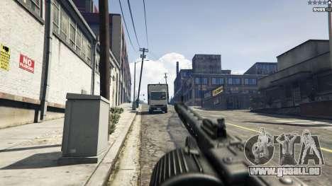 GTA 5 MG-42 achten Screenshot