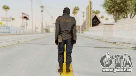 MGSV Phantom Pain Zero Risk Sniper pour GTA San Andreas troisième écran