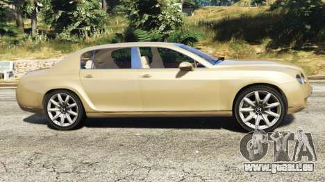 GTA 5 Bentley Continental Flying Spur 2010 linke Seitenansicht