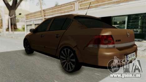 Opel Astra Sedan 2011 pour GTA San Andreas laissé vue