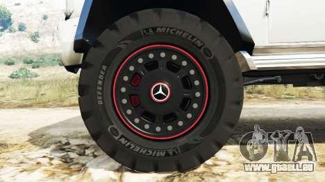 GTA 5 Mercedes-Benz G65 AMG 6x6 Lenkrad