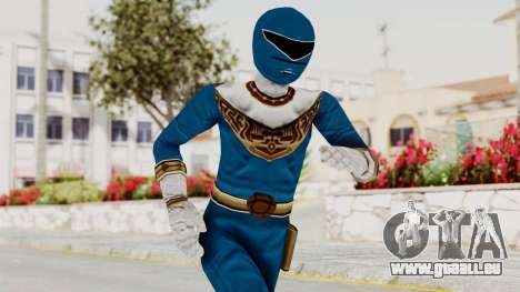 Power Ranger Zeo - Blue pour GTA San Andreas