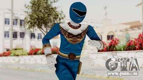 Power Ranger Zeo - Blue pour GTA San Andreas