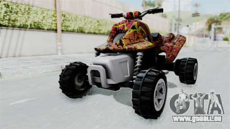 Sand Stinger from Hot Wheels v2 für GTA San Andreas rechten Ansicht