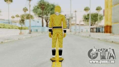 Alien Rangers - Yellow für GTA San Andreas dritten Screenshot