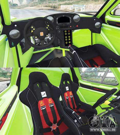 GTA 5 Radical RXC Turbo hinten rechts