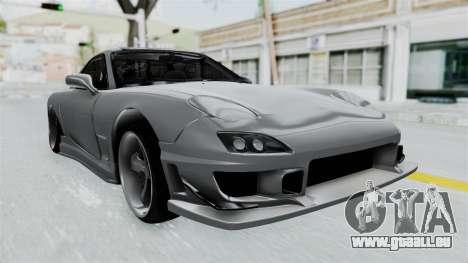 Mazda RX-7 FD3S HellaFlush pour GTA San Andreas