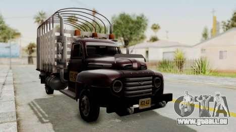 Ford 49 Con Estacas für GTA San Andreas rechten Ansicht