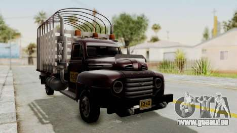 Ford 49 Con Estacas pour GTA San Andreas vue de droite