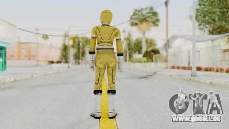 Power Rangers Turbo - Yellow für GTA San Andreas dritten Screenshot