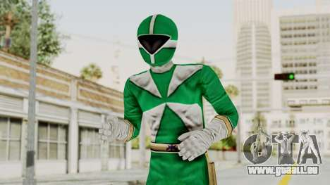 Power Rangers Lightspeed Rescue - Green pour GTA San Andreas