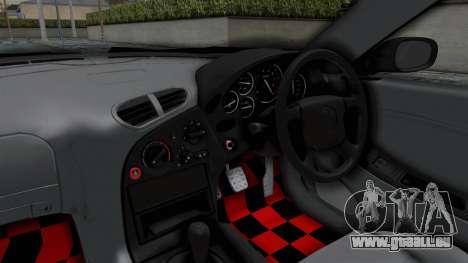 Mazda RX-7 FD3S HellaFlush pour GTA San Andreas vue intérieure