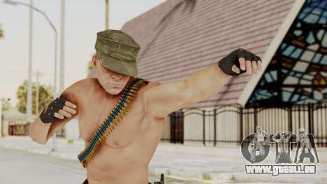 MGSV Phantom Pain Rogue Coyote Soldier Naked v1 pour GTA San Andreas
