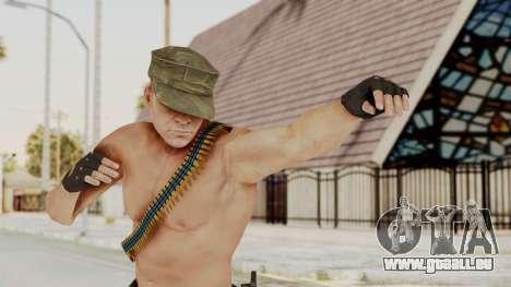 MGSV Phantom Pain Rogue Coyote Soldier Naked v1 pour GTA San Andreas