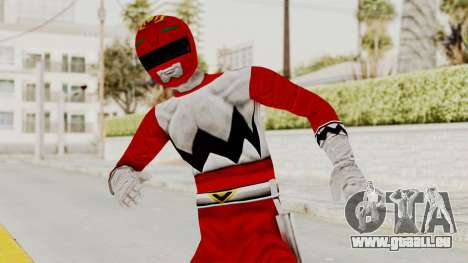 Power Rangers Lost Galaxy - Red für GTA San Andreas