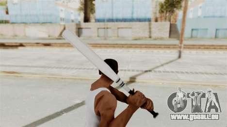 Metal Slug Weapon 3 pour GTA San Andreas troisième écran
