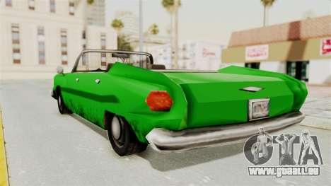 Glendale XS für GTA San Andreas linke Ansicht