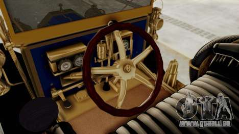 Ford T 1912 Open Roadster v2 für GTA San Andreas Innenansicht