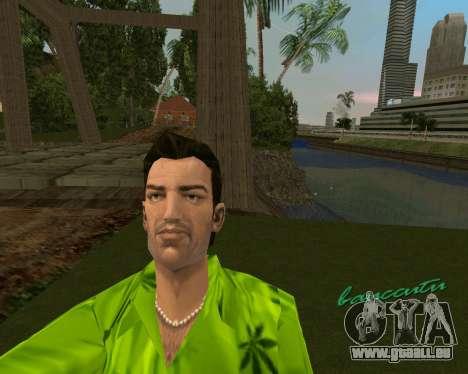 Weed T-Shirt für GTA Vice City zweiten Screenshot