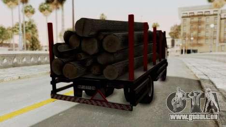 FAP Kamion za Prevoz Trupaca für GTA San Andreas linke Ansicht