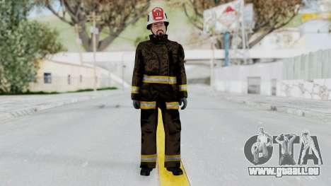 GTA 5 Fireman SF für GTA San Andreas zweiten Screenshot