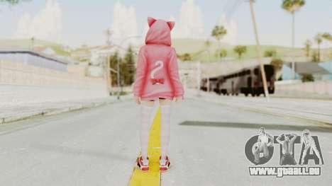 DoA5 LR Marie Rose Newcomer Set pour GTA San Andreas troisième écran