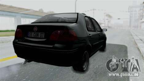Fiat Albea für GTA San Andreas linke Ansicht