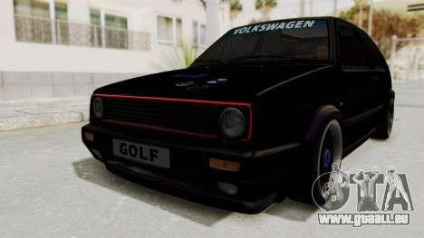 Volkswagen Golf 2 GTI pour GTA San Andreas