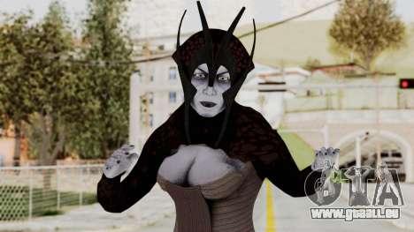 Mass Effect 1 Matriarch Benezia pour GTA San Andreas