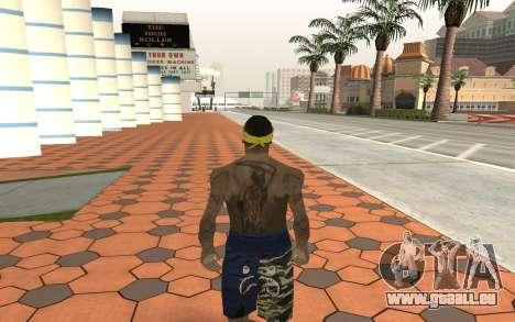 Los Santos Vagos Gang Member für GTA San Andreas zweiten Screenshot