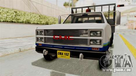 GMC Sierra 3500 für GTA San Andreas rechten Ansicht