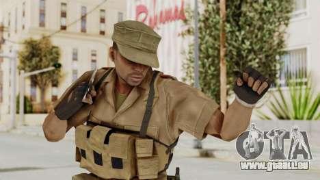 MGSV Phantom Pain CFA Combat Vest 1 v1 für GTA San Andreas