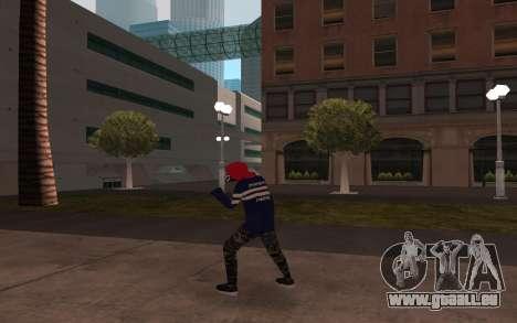 De nouveaux sans-abri v3 pour GTA San Andreas troisième écran